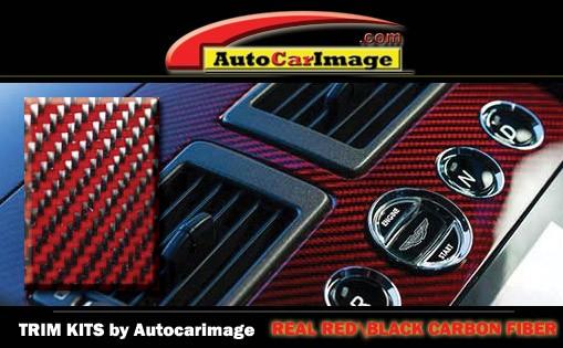 Dash Trim Kit for FORD CONTOUR 1998 carbon fiber wood aluminum